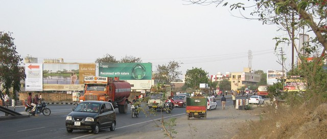 Nagar Road at Wagholi, Kharadi annexe, Pune