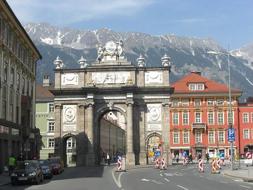 Innsbruck Austria Arch
