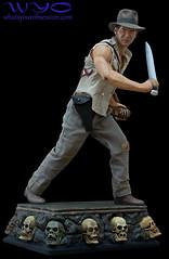Sideshow Collectibles Indiana Jones Temple of Doom Exclusive Premium Format statue - 1 (dr_teng) Tags: statue indianajones sideshowcollectibles templeofdoom premiumformat