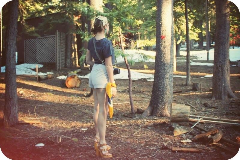 Woodswoman