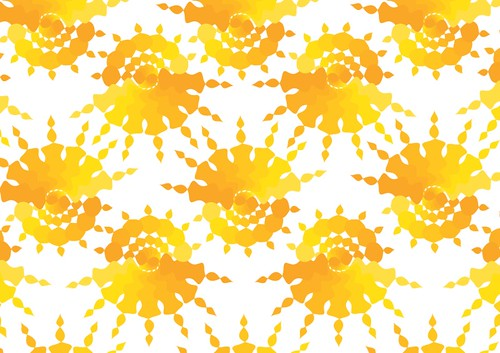 Sun Star Pattern - Copyright R.Weal 2011