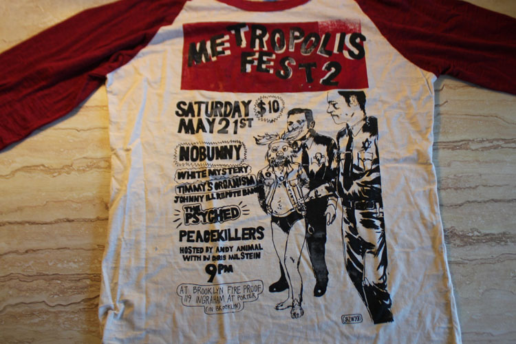 2011/06/06 Metropolise Fest 2 Shirt (baseball shirt)