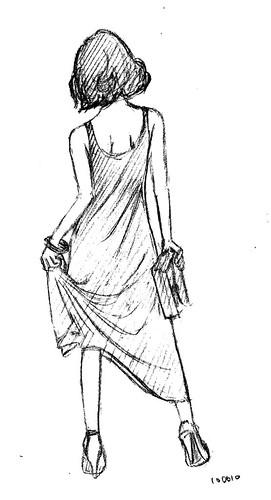 Drawing - Woman