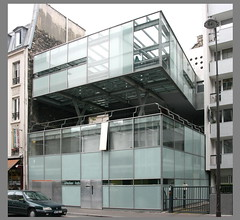 Atelier Lab (architecture agency) [2001]-  Paris XIXe (RUAMPS ) Tags: france architecture architect lecorbusier architecte 75019 19e 19eme ruedetanger archiref ruamps
