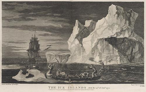 014-Los Icebergs avistados el 9 de Enero de 1773