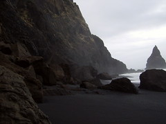 isx (smadventure) Tags: ocean mountain mountains blacksand iceland waves falls atlantic vik glacier waterfalls volcanic atlanticocean blacksandbeach