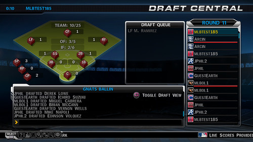 MLB 09 The Show League Draft
