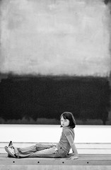 A Rule of Thirds (Thomas Hawk) Tags: sanfrancisco california blackandwhite bw usa museum painting blackwhite unitedstates unitedstatesofamerica sfmoma rothko soma markrothko sanfranciscomuseumofmodernart sanfranciscomoma