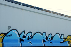 Kerse (All Seeing) Tags: graffiti amfm hoppers allseeing esrek esrekie frumper
