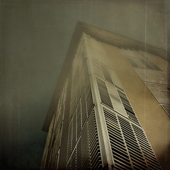 Scratching the Sky (EudaldCJ) Tags: barcelona arquitectura album textures squareformat catalunya 500x500 artlibre citrit 2bdasest hourofthesoul