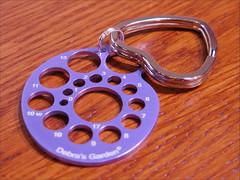 Debra's Garden Key Chain