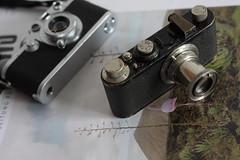 Leica I(c) and IIIf (ismon) Tags: leica ltm 50mm ic nickel elmar 1c hektor leitz barnack iiif photonews schraubleica