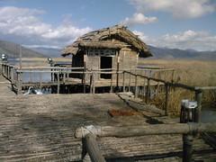 Ancient village in Lake -Dispilio 2 (xpavli) Tags: lakes greece prespes