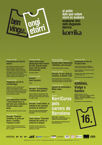 Korrika a Barcelona