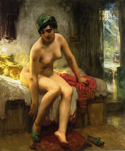 After the Bath By Bridgman