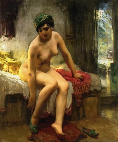 After the Bath By Bridgman