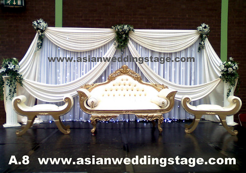 White Wedding Backdrops