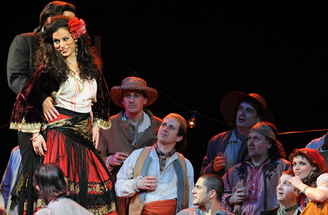 Carmen Production Shot