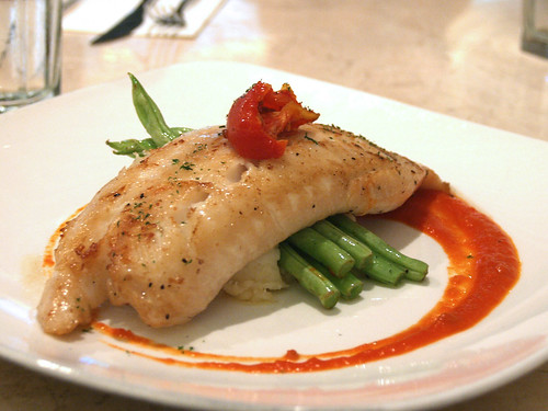 Fillet of snapper