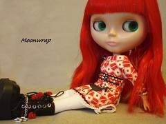 Scarlett-Adeline reclines...
