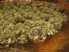 Pistachio-Kirsch Truffles