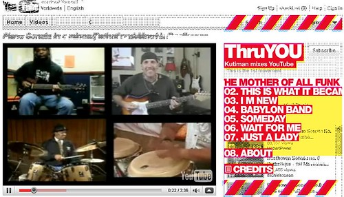 Thru-You: Mix of Unrelated YouTube Video Clips 2