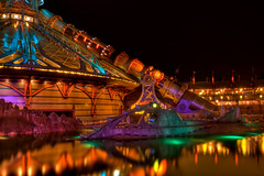 DLP Feb 2009 - Space Mountain and the Nautilus by Night