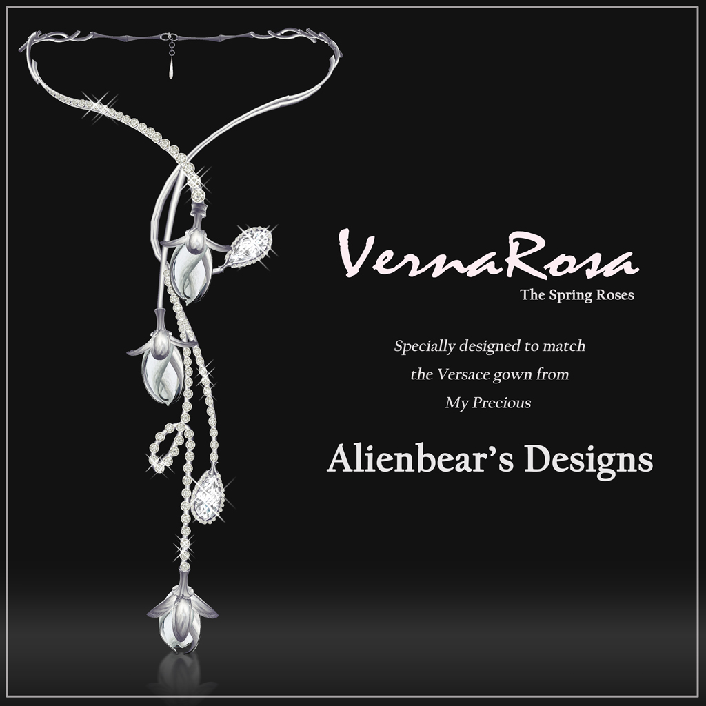 VernaRosa necklace white