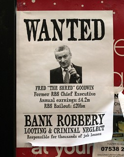 Wanted Poster at Holburn Station (London, UK)