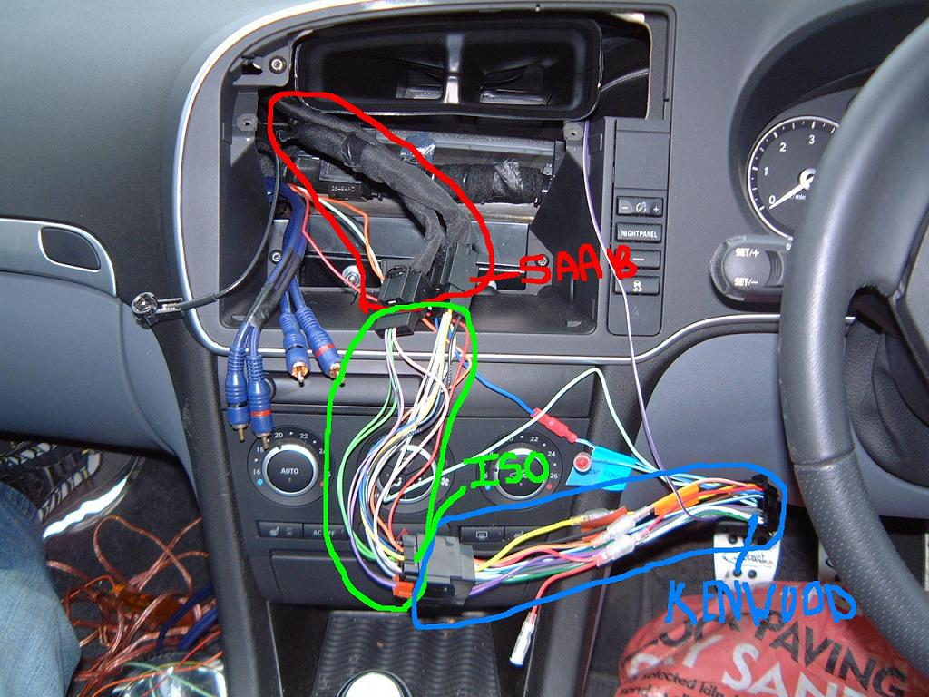 Pioneer Avic F700bt Installed In My 08 9 3ss Archive Saabcentral Wiring Forums