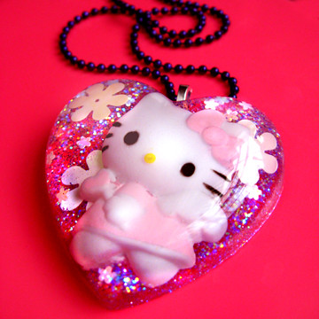Handmade Hello Kitty Heart by isewcute