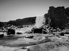 Climbing up the walls (Andri Elfarsson) Tags: pictures desktop camera trip travel winter wallpaper vacation blackandwhite bw white holiday snow black cold art apple nature rock canon dark landscape frozen iceland highresolution rocks imac darkness quality fineart fine large reykjavik full size waterfalls resolution fullresolution northern thingvellir ingvellir 5k icelandic holyday xarrfoss tingvellir freedesktop freewallpaper oxararfoss 1740canon thingvalla wallpaperbw canon17mm40l desktopbw desktopblackandwhite wallpaperblackandwhite imac5k