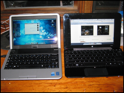Dell Mini & HP Mini