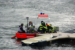 Boot gekentert Schiersteiner Hafen 23.03.09