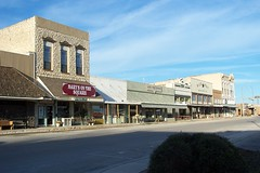 Beautiful Downtown Comanche, Texas