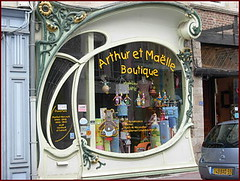 art nouveau shop window (april-mo) Tags: france art window shop dco artdco douai vintageshopwindow artdcoshopwindow douaiartdcoshopwindow frenchartdcoshopwindow devanturemagasinartdco