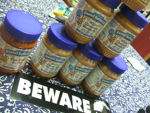 7 JARS OF WHITE CHOCOLATE PEANUT BUTTER FOR $6.90!!!!