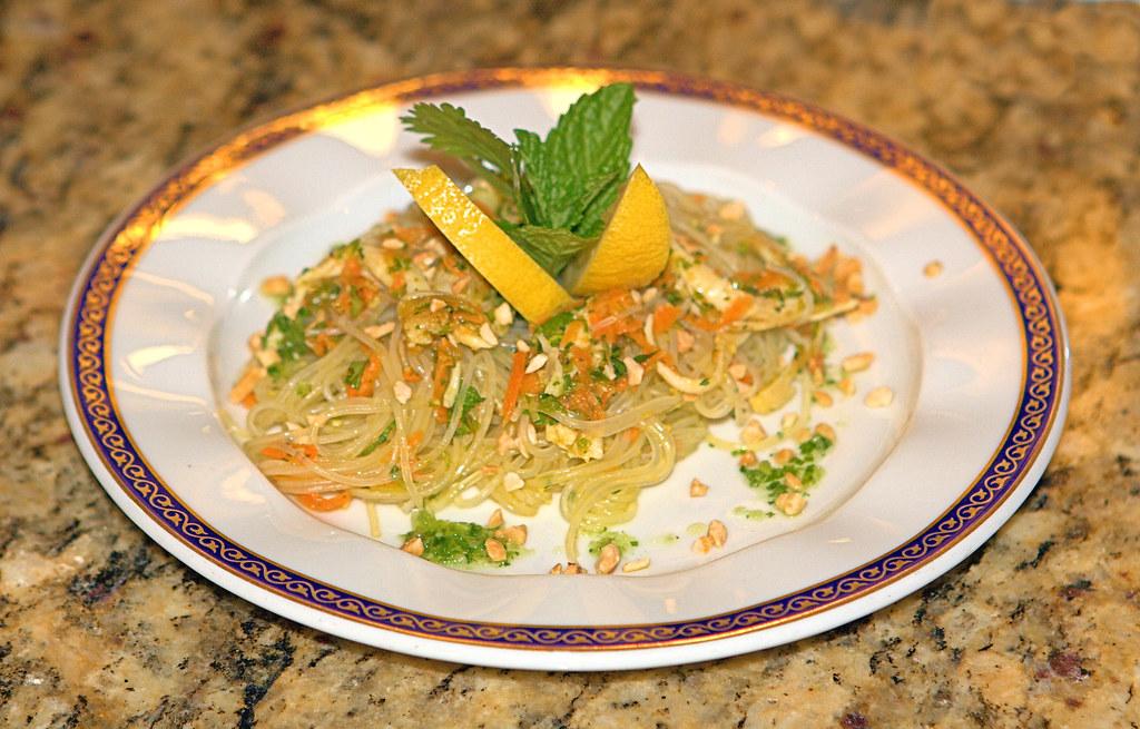 First Course, Thai Noodle Salad