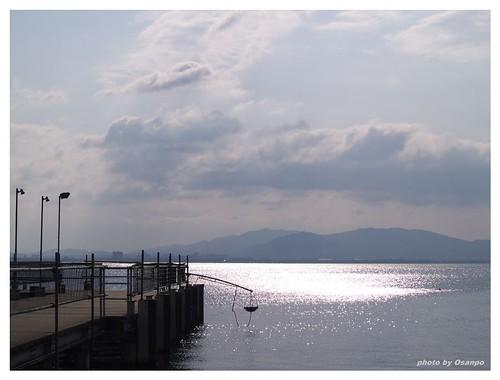 Morning of the Lake Biwa 090327 #04