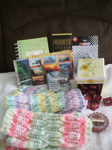 my swap package from gwen