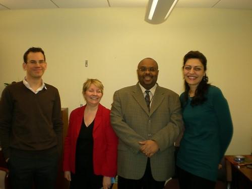 Simon, Wendi, Carl and Fulya CSW 2009