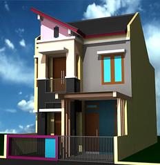Desain dan Renovasi Rumah Minimalis 2 lantai by Indograha Arsitama  Desain & Build