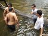 Loving Couple? (AMRI EFENDI) Tags: people river naked sensored 18sx