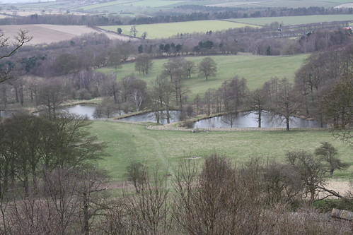 Mill ponds at Hardwick