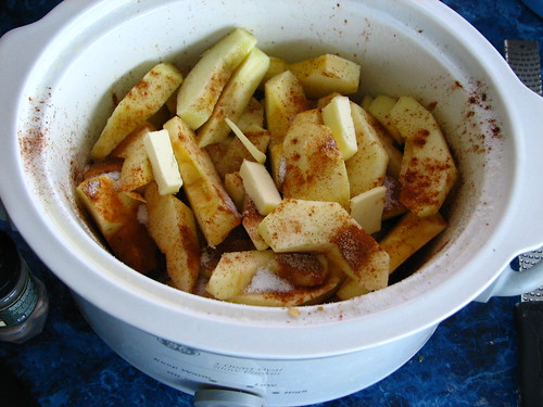crock pot apples