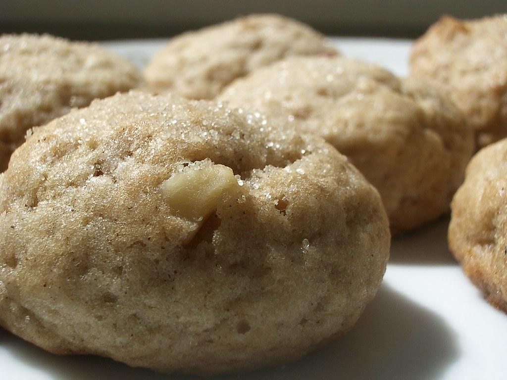 vegan applesauce cookies