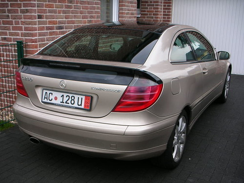 Mercedes Benz C230 Kompressor Sport Coupé - Back