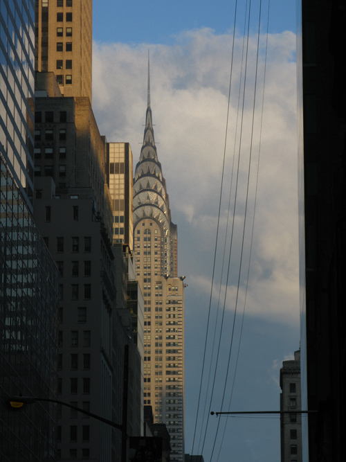 the Chrysler Building and surroundings, Manhattan, NYC