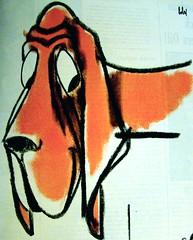 Hound (art.crazed) Tags: life dog magazine ad hound 1960 bobri