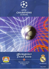 Bayer Leverkusen v Real Madrid 20020515 (tcbuzz) Tags: cup european final league champions programme
